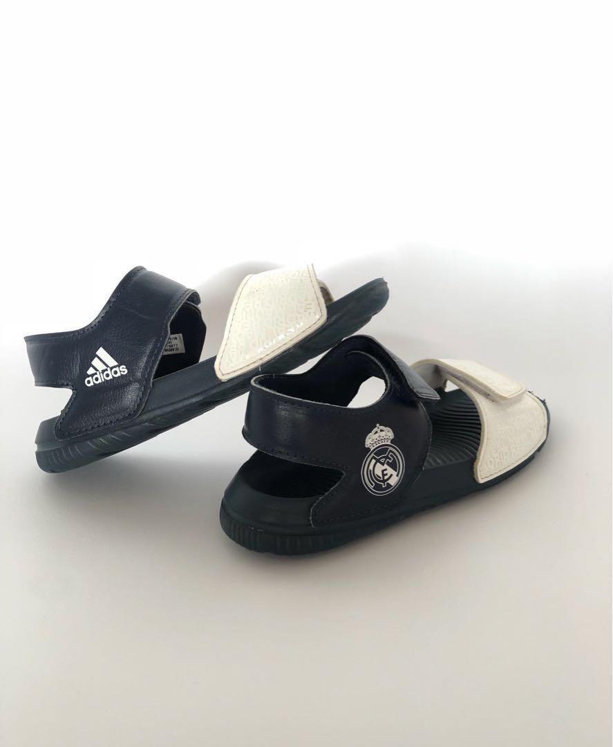 61966318d03a Real Madrid Kids Sandals -Adidas size US9 (EU27   15.5cm)