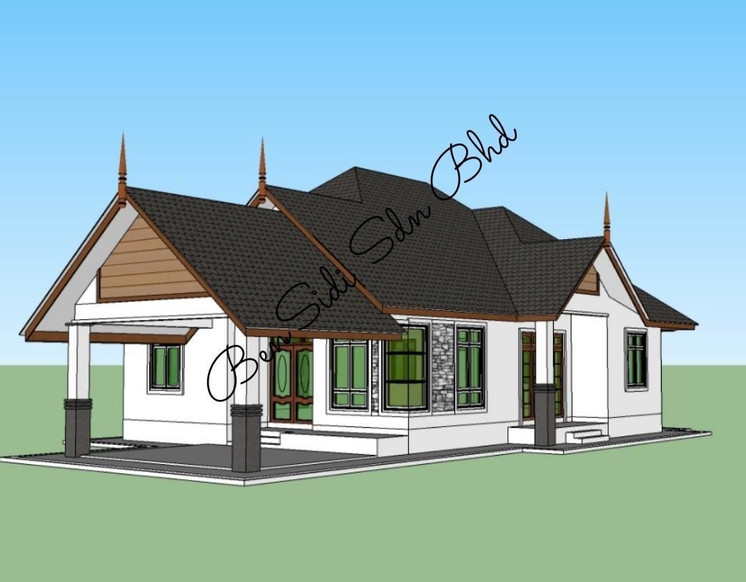 Design Rumah Banglo Moden Cinici