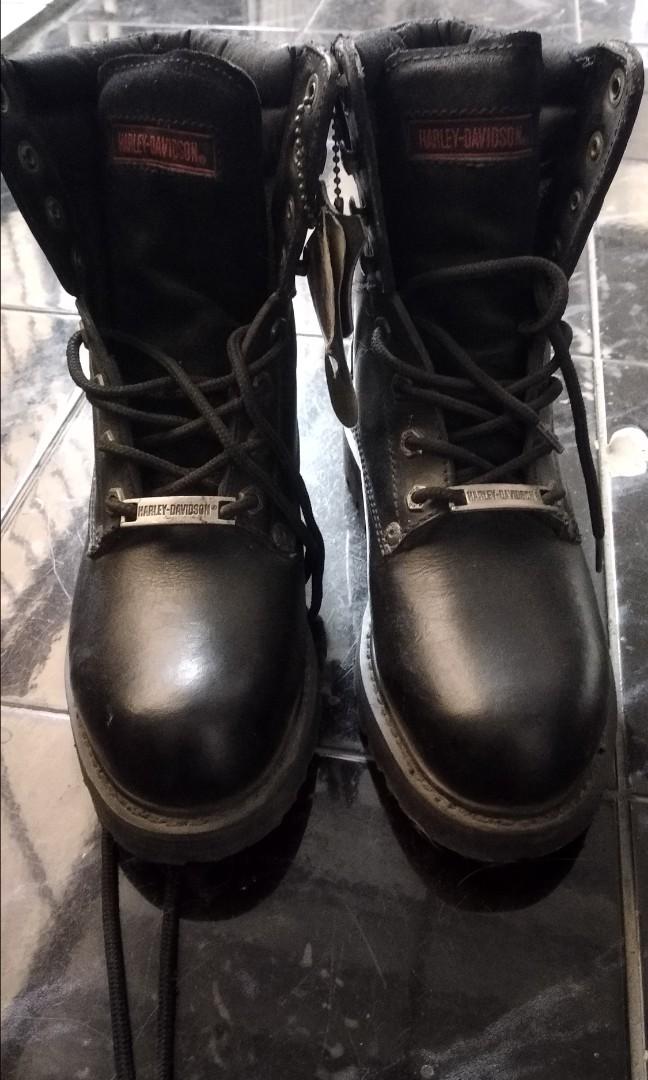 Sepatu Harley davidson original kondisi mulus cf902a1905