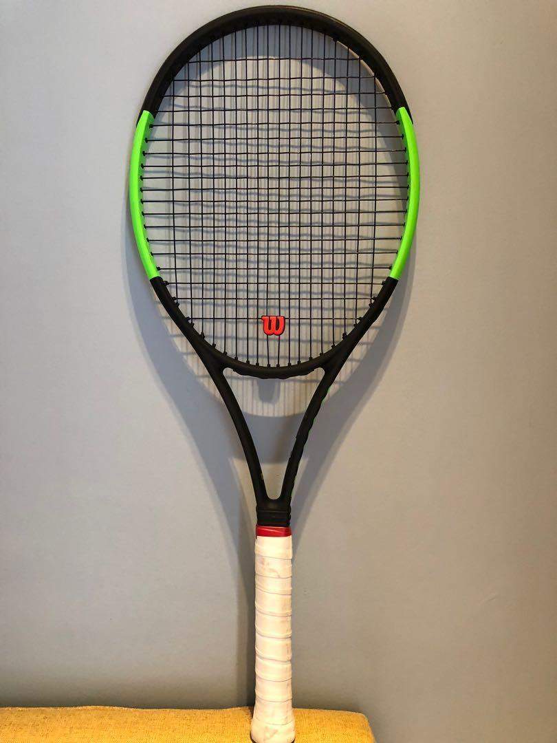 Serena Williams Wilson Blade SW104 Autograph Countervail