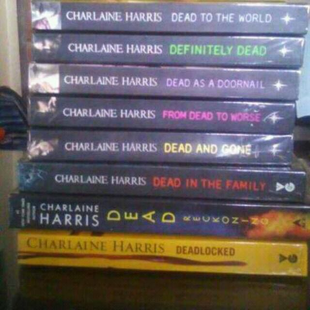 Sookie Stackhouse Novels Trueblood Series Vgc Repriced Offer