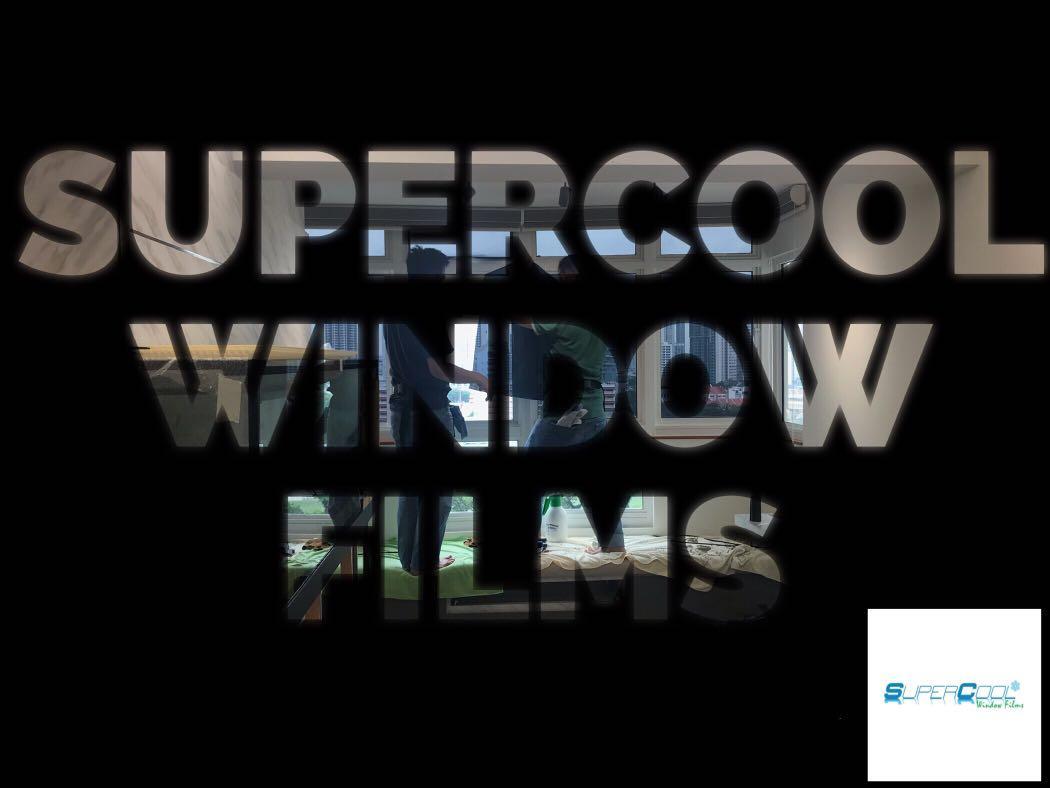 SuperCool Window Films Home Series!!!
