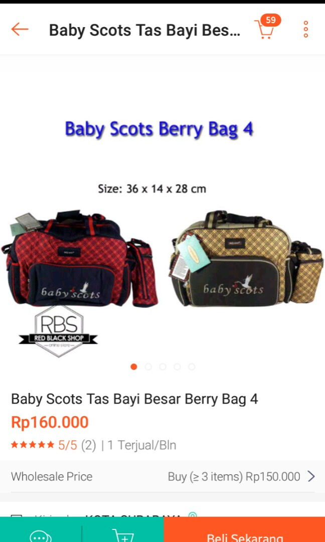 d653f34edcc Tas baby size besar, Babies & Kids, Others on Carousell