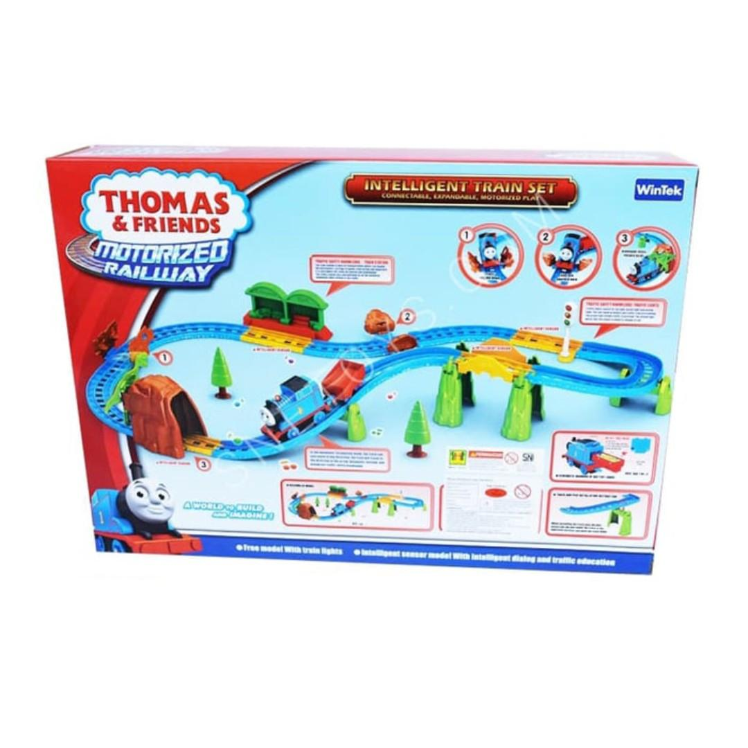 Thomas and Friends Motorized Railway mainan Kereta Thomas E5003