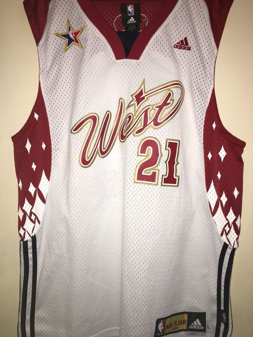 outlet store 312ca 87833 Tim Duncan Las Vegas 2007 NBA All Star jersey West San Antonio Spurs