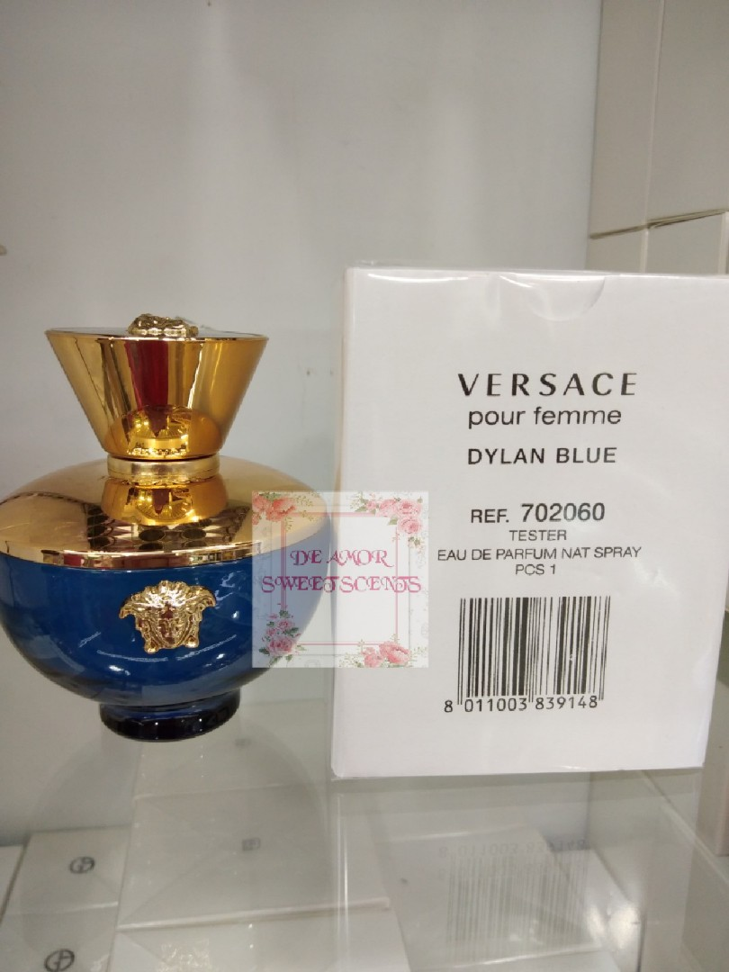 Versace Dylan Blue Pour Femme Original Tester Health Beauty