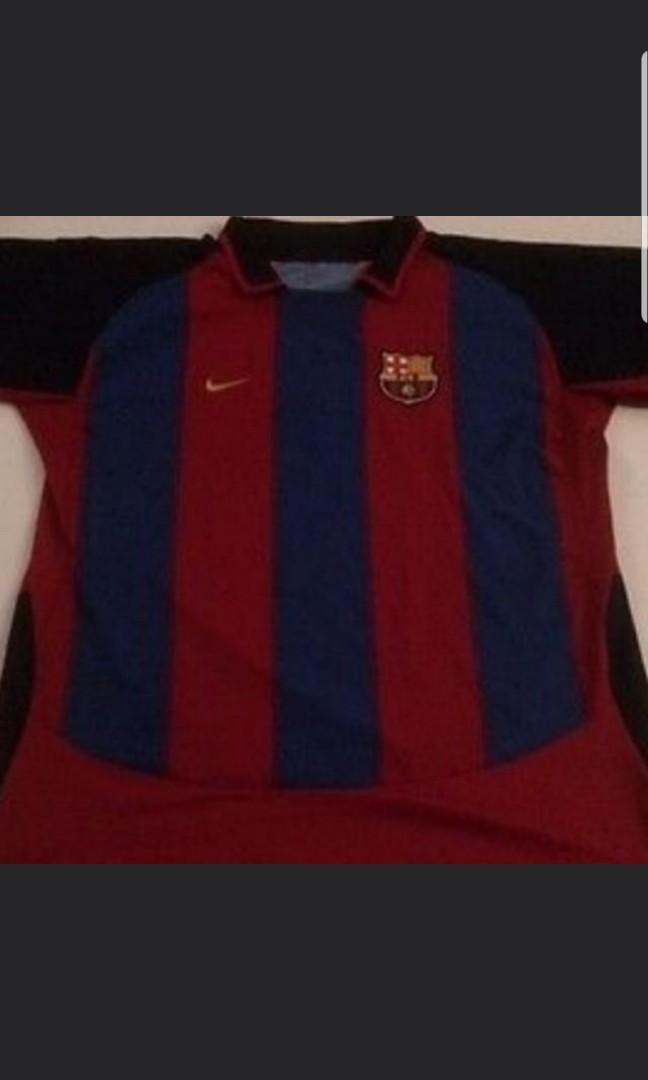9b201aeee29 Vintage Barcelona 2003 Jersey