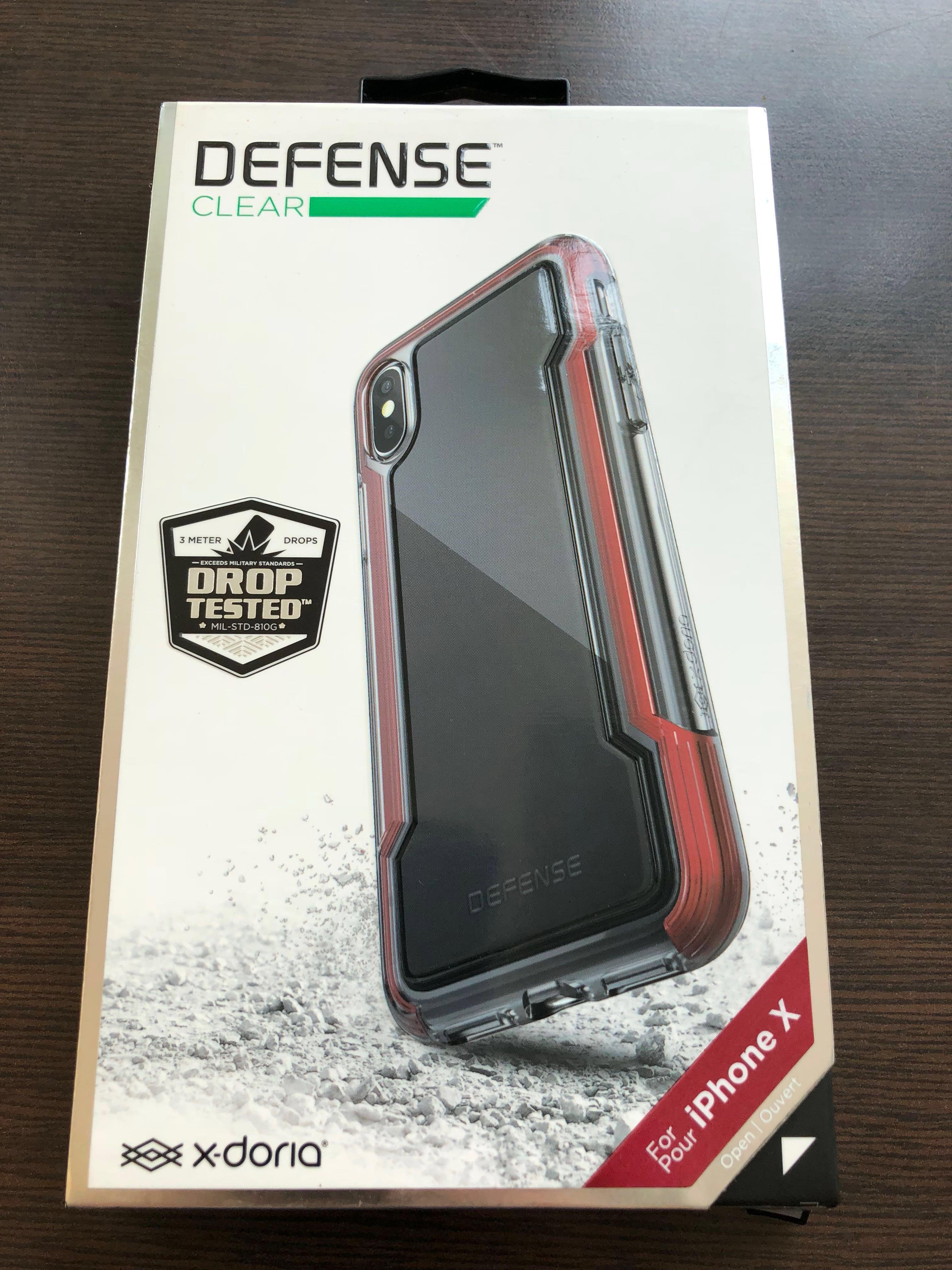 size 40 d81a6 16c6a X-Doria Defense Clear Case Iphone X / XS
