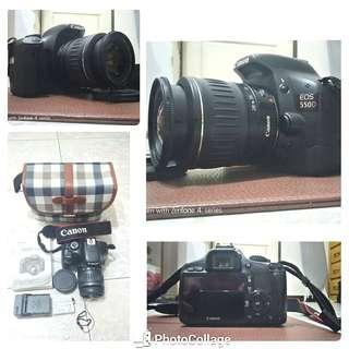 🚚 Canon 550D +lens ef 28-90
