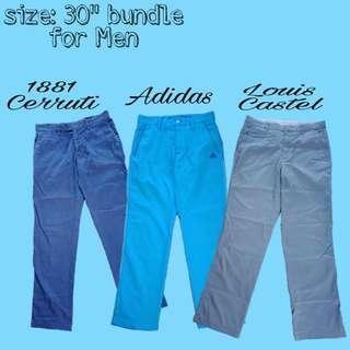 """Pants for men bundle 30"""""""