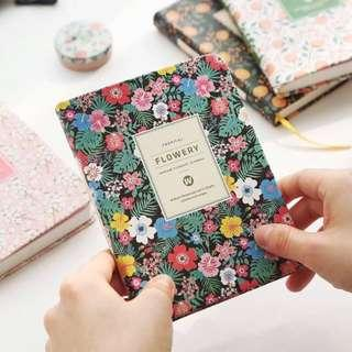 2019 Flowery Daily Planner
