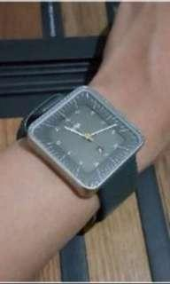 Braun Authentic Watch - Gray Strap Black Dial