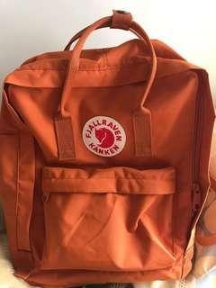 kanken burnt orange