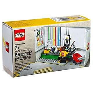 Leeogel Lego 5005358 Minfigure Factory Minfig 40 Years - New In Sealed Box