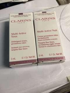 Clarins sample set