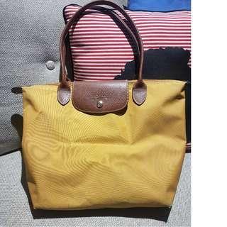 Longchamp le pliage yellow size S