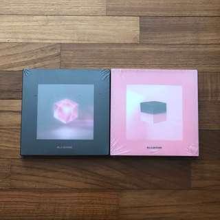 instock blackpink square up sealed album black pink