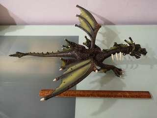 "Mega Bloks Dragon, approx 18"" Length with 15"" wing span"