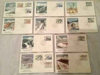 冬季奧林匹克 1984 Olympics 首日封