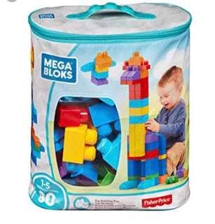 Fisher price Lego 費雪 積木 面試玩具 Mega Blocks