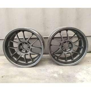 """18"""" Rays INGs+1 TS06 sportrims Made in Japan"""