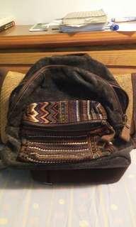 牛仔民俗風包包(含運)