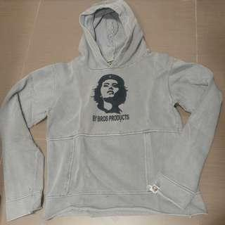 vintage 洗水 BrosProducts Hoodie size S 男女合用