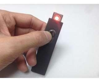 包郵USB 防風充電打火機連 micro USB cable charger lighter