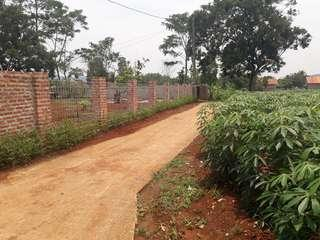 Tanah Desa Pabuaran Parung dekat Perumahan telaga kahuripan ( Sertifikat )