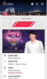 🚚 WAKIN CHAU LIVE CONCERT 2018 LIVE