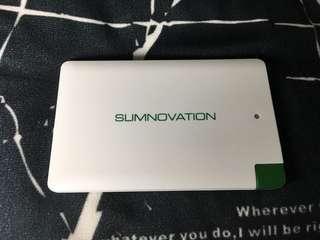 包郵咭卡片超薄救命快义充電器 Slimnovation Power Bank Portable Charger