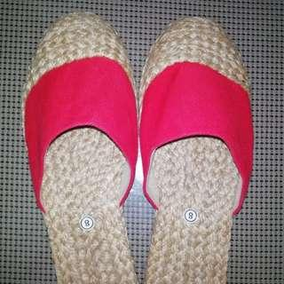 Abacca Half Shoes
