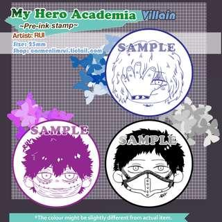 [PO] My Hero Academia Stamps
