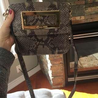 Michael Kors authentic snake skin purse