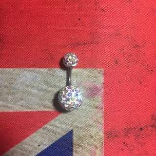blingbling鋼碎石臍環
