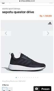 Sepatu lari adidas