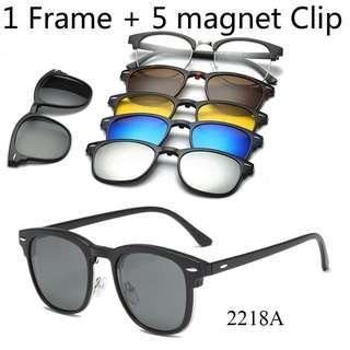 🆕🆒 Sunglasses 6 in 1