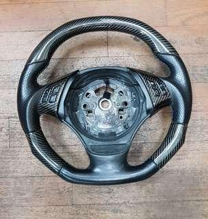 BMW E90 Carbon Steering Wheel