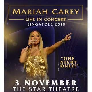 【CAT 3】Mariah Carey LIVE IN CONCERT