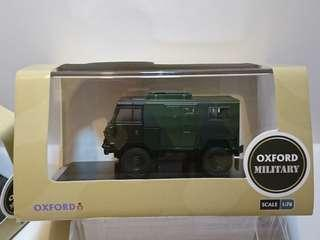 OXFORD MILITARY Land Rover 101 FC Signals Nato Green Camouflage 英國路虎軍車 British Army vehicle 英國英軍軍車 1:76 CODE:76LRFCS001(黑綠迷彩)