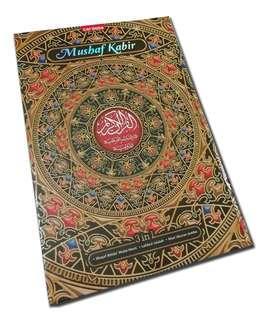 (PO) Extra Large Al-Quran Mushaf Kabir Waqaf Ibtida