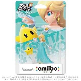 全新 Switch 大亂鬥 Super Smash Bros. Ultimate Mario Party 合用 Amiibo Figure: Rosetta & Chiko (日版)
