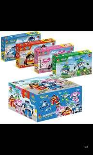 Po authentic robocar poli building toy brand new 4 design available price for each box