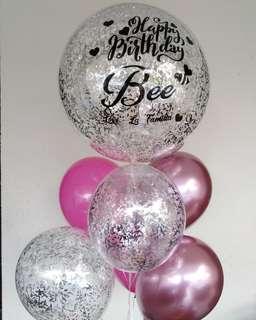 Bubble balloons set
