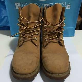 🚚 Timberland 女經典黃靴 10361 US8