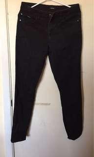 R Brand High Waisted Denim Skinny Jeans