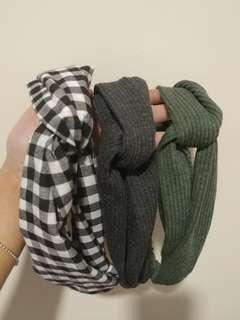 頭巾 頭帶 hair band