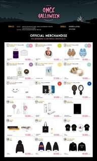 ( Price updated) Twice fan meeting official goods
