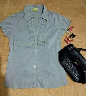 AVOCADO gray striped blouse ❤❤❤