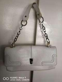 Galaday baguette leather bag